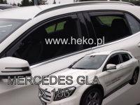 Protiprůvanové plexi, Mercedes GLA X156 5D 2014R =>, 4ks predné+zadné