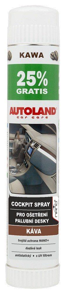 Čistič palubní desky, cockpit spray vůně Kávy/Capuchino 500ml 1ks AUTOLAND
