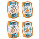 Chrániče kolien a lakťov pre deti Star wars BB8 - 4ks