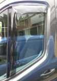 Plexi, ofuky Ford Transit 2014r =>, 3mm průhledný akryl