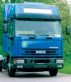 Slnečná clona Iveco Eurocargo => 04/2003, high roof nebo spoiler, akrylová část s montážní sestavou