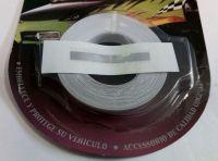 Ozdobný pásek čára, 6mm chrom