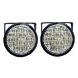 Svetlá pre denné svietenie 2x18 LED, 12V / 24V