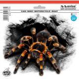 Samolepka Pavouk tarantule 375 x 310 mm s UV filtrom
