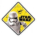 Dekor na prísavku Star Wars Stormtrooper 13 x 13 cm