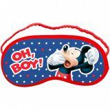 Mickey Mouse maska na spanie pre deti 18 x 8,5 cm