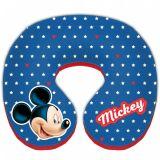 Polštář do auta Mickey Mouse od 3 let, průměr 21 cm