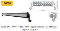 LED panel 300W, 1393 mm, reflektor