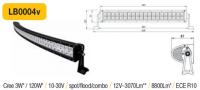 LED panel Oblúk 120W, 630 mm, reflektor