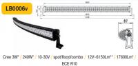 LED panel Oblúk 240W, 1140 mm, reflektor