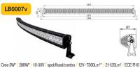 LED panel Oblúk 288W, 1344 mm, reflektor