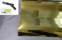 Protislnečné fólie do okien zlatá 50 x 300cm, GOLD