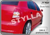 Prahové lišty Tuning - STYLLA UNI typ A 127 - 202 cm, L/P