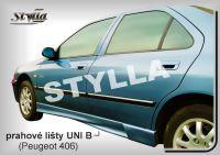 Prahové lišty Tuning - STYLLA UNI typ B 165 - 203 cm, L/P