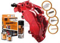 FOLIATEC dvojzložková farba na brzdy červená (Racing rosso)