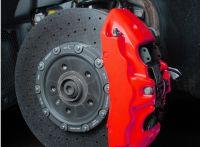 FOLIATEC dvojzložková farba na brzdy Neonově červená