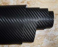 Karbonová fólie černá 3D 50x60cm samolepka interiér, exteriér
