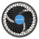 Ventilátor na prísavku MITCHELL 12V, 150mm čierný