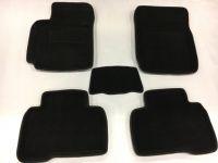 Koberce 3D textilné TOYOTA RAV 4 IV roky 2013, čierne