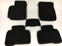 Koberce 3D textilné MITSUBISHI ASX 2010, čierne