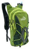 Zelený batoh s pitným vakom GREEN 10 litrov