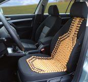 Univerzální potah sedadka dřevěný, korálky (kuličky) 1ks Vyrobeno v EU