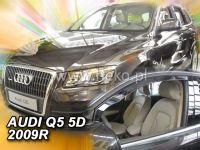 Plexi, ofuky Audi Q5 5D 2009R přední HDT