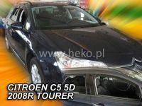 Plexi, ofuky Citroen C5 5D 08R combi + zadní HDT