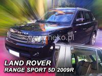 Plexi, ofuky Land Rover Range Rover Sport 5D, 2005 =>, přední + zadní HDT