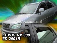 Plexi, ofuky Lexus RX300 USA, 2009 =>, přední + zadní HDT