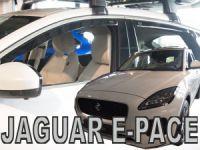 Ofuky plexi Jaguar E-pace 4D 2018r =>, predné + zadné