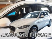 Ofuky plexi Jaguar F-pace 4D 2018r =>, predné + zadné
