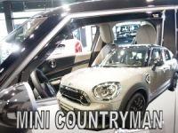 Plexi, deflektory bočných skiel Mini Countryman 5D 2017r =>, predné