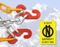 Snehové reťaze X40 krížová stopa 3,0 mm 9mm, Rýchloupínacie Nylonová taška Compass