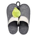 Pánske papuče do sauny, vlna 100% vlna
