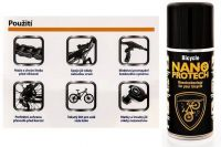 NANOPROTECH BICYCLE 150ml oranžový na kolo
