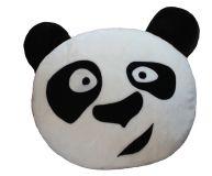 Polštář do auta Smajlík Panda  100% Polyamid