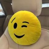 Polštář do auta Smajlík Smile Žlutý 100% Polyamid