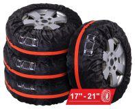 Návleky na pneumatiky 4ks pre gumy R17 - R21