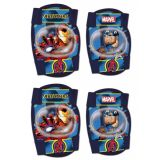 Chrániče kolien a lakťov pre deti  Capitan America a Iron man Avengers