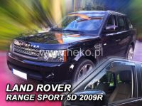 Plexi, ofuky Land Rover Range Rover Sport 5D, 2005 =>, přední HDT