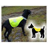 Výstražný reflexní doplněk pro psa, dobře viditelný na velkou vzdálenost do 30kg