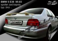 Zadní spoiler křídlo zadní pro BMW 5 E39 1995-2003r