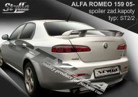 Zadní spoiler křídlo pro Alfa Romeo 159, 2005r => atest