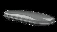 Strešný box HAKR Magic Line 450 Strong - strieborná metalická perleť