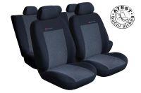 Autopotahy Seat Cordoba II, od r. 2002-2011, šedo černé