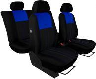 Autopotahy Ford C- MAX I, 2003-2010, 5 míst, DUO TUNING modročerné