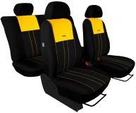 Autopotahy Ford C- MAX I, od r. 2003-2010, 5 míst, DUO TUNING žlutočerné