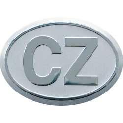 samolepka metal CZ