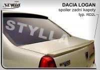 Zadní spoiler křídlo zadní pro DACIA Logan 2004r =>